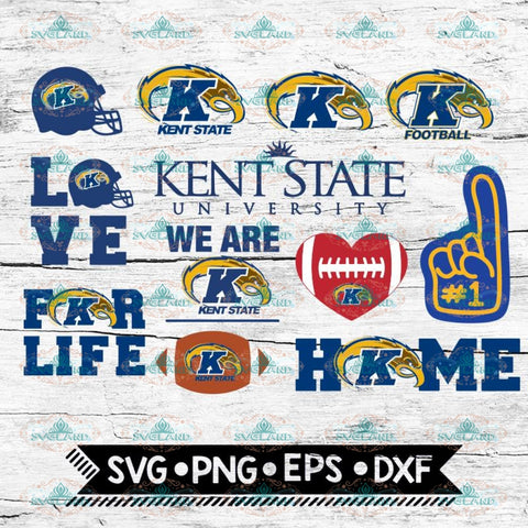 Kent State Svg, NCAA, Sport, Bundle, Svg