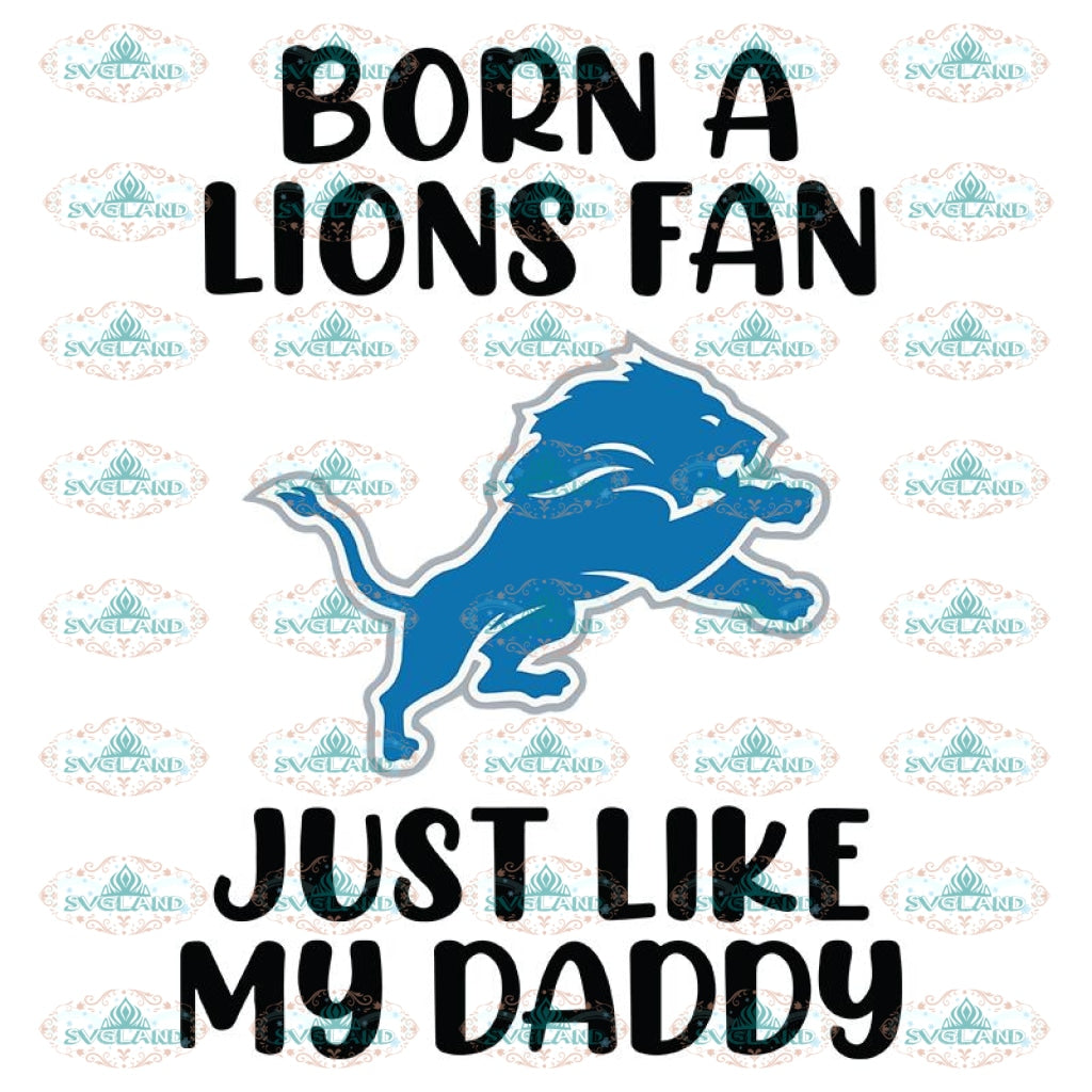 Lions Love Svg, Football Lions Like Daddy Svg, Love Lions Svg, NFL Svg, Cricut File, Clipart, Detroit Lions Svg, Football Svg, Sport Svg, Love Football Svg