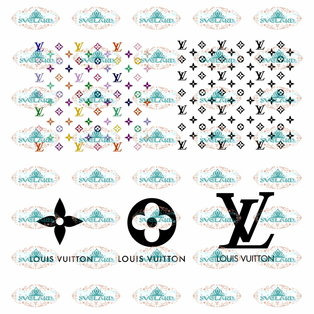 Louis Vuitton Svg Bundle File Lv Bundle Brand Logo Svg Louis Vuitt Svglandstore