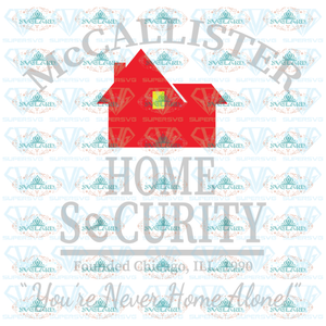 Mccallister Home Security Digital Download Alone Iro On Transfer Digital
