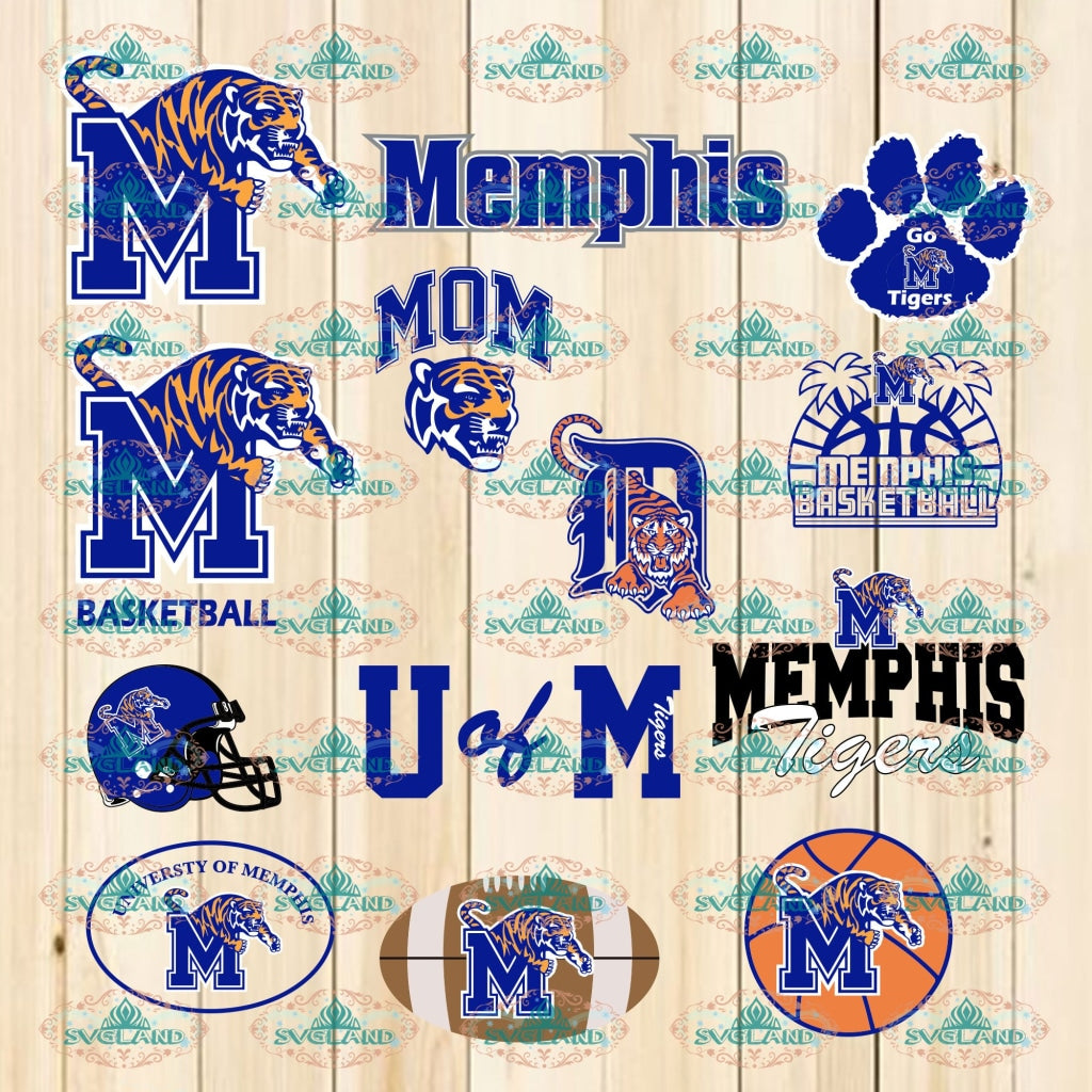 Memphis Mom Bundle File Svg Cut Basketball Bball Game Day Svg Digital
