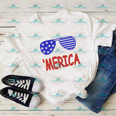 Merica Happy July 4Th Its My Birthday Of Svg Fourth Home The Brave Digital