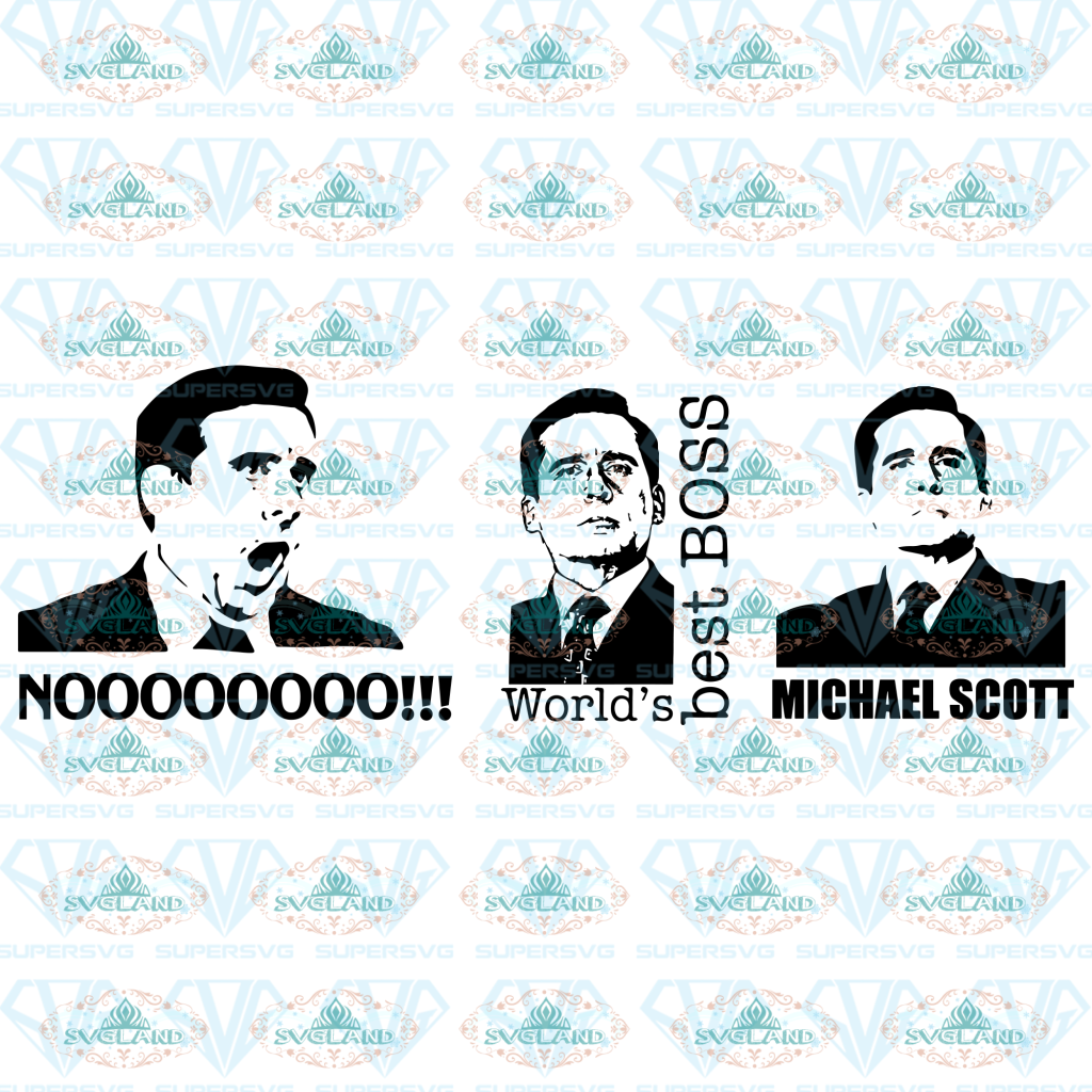 Michael Scott Svg Svg Digital