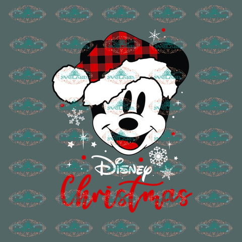Mickey Svg Mickey Mouse Disney Christmas Gift Outfit Digital