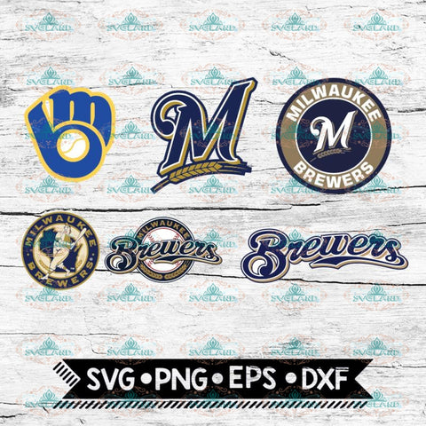 Milwaukee Brewers svg, png, dxf, eps, logos, graphics, MLB