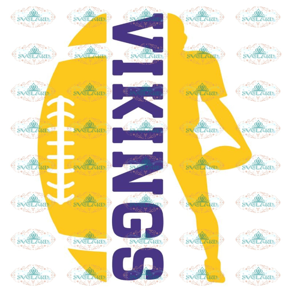 Minnesota Vikings Harley Davidson Svg, Vikings Football Svg, NFL Svg, Cricut File, Clipart, Leopard Svg, Sport Svg, Football Svg1