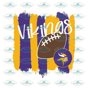 Minnesota Vikings Svg, Vikings Football Svg, Love Svg, NFL Svg, Cricut File, Clipart, Leopard Svg, Sport Svg, Love, Football Svg8