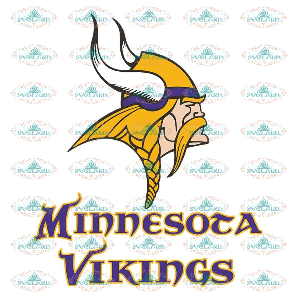 Minnesota Vikings Svg, Vikings Logo Svg, NFL Svg, Cricut File, Clipart, Leopard Svg, Sport Svg, Football Svg4