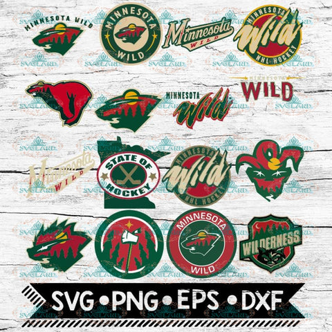 Minnesota Wild Svg, Minnesota Wild logo, NHL, Svg, Bundle