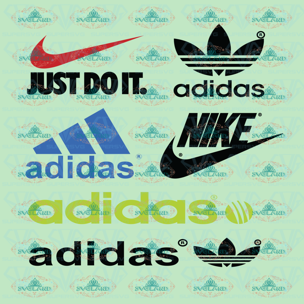Nike Nike Logo Bundle Just Do It Svg Sticker Fashion Digital