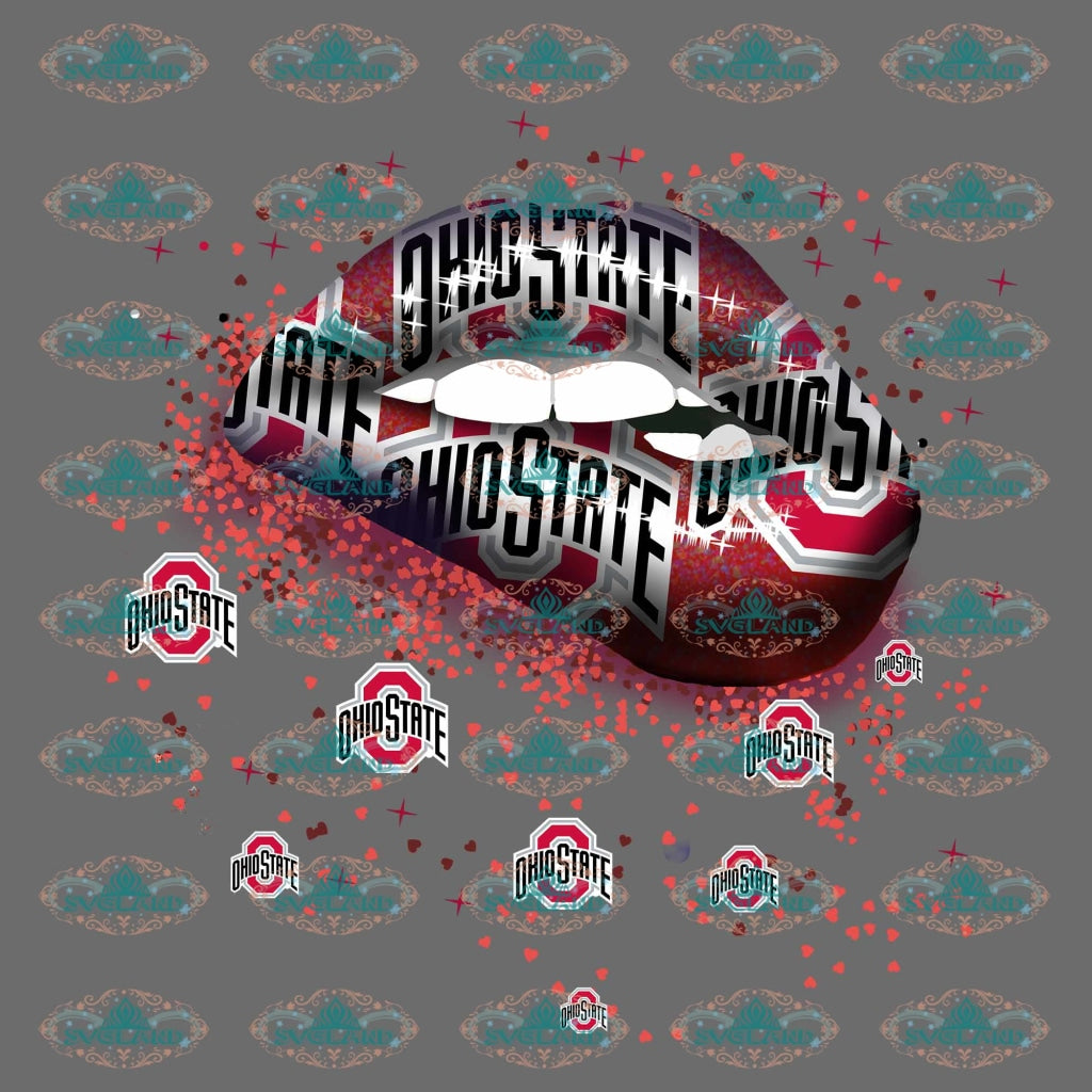 Ohio State Buckeyes Ohio Football Buckeye Gift College Png Digital