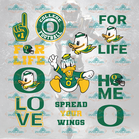 Oregon Stanford Oregon Ducks Standford College Football Svg Bundle File Nfl Ncaa Digital