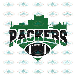 Packers Football City Pack Svg, Green Bay Packers Svg, Packers Quotes, Cricut Silhouette, Clipart, NFL Svg, Football Svg, Sport Svg