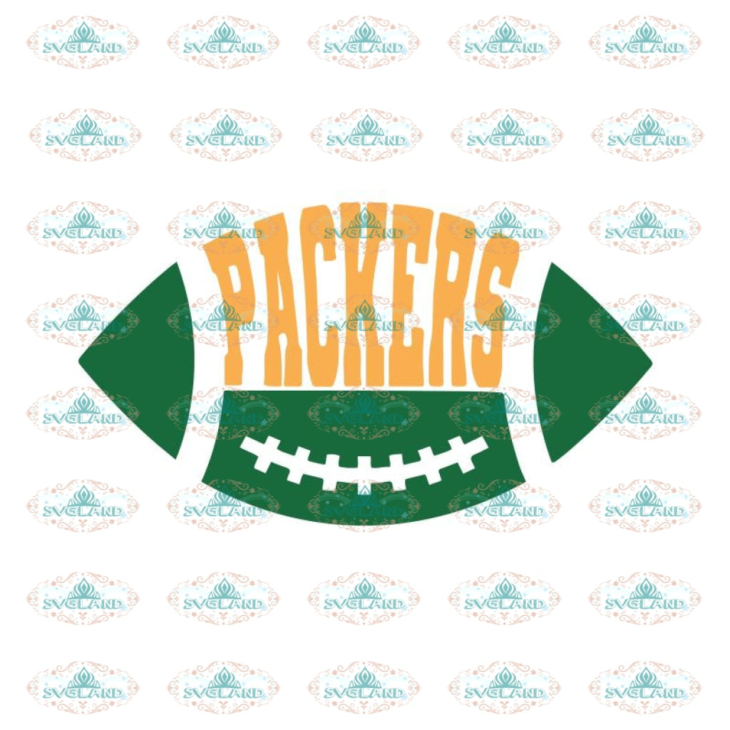 Packers Football Cute Svg, Green Bay Packers Svg, Packers Quotes, Cricut Silhouette, Clipart, NFL Svg, Football Svg, Sport Svg