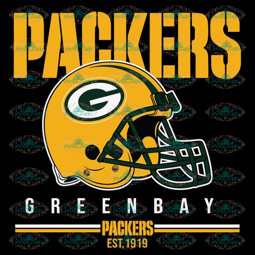 Packers Football Est 1919 Svg, Green Bay Packers Svg, Packers Quotes, Cricut Silhouette, Clipart, NFL Svg, Football Svg, Sport Svg