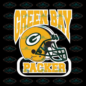 Packers Helmet Svg, Green Bay Packers Svg, Packers Quotes, Cricut Silhouette, Clipart, NFL Svg, Football Svg, Sport Svg 5