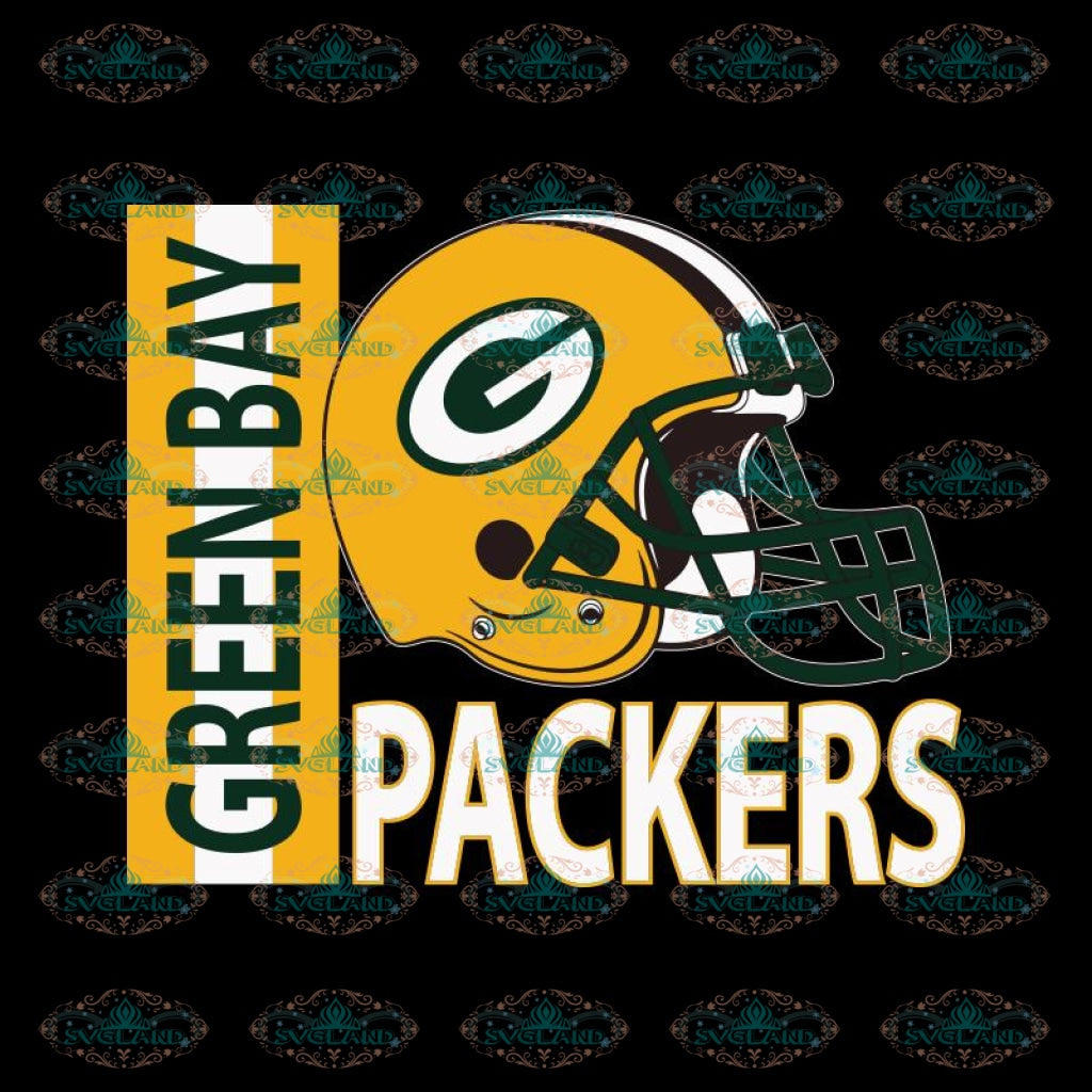Packers Helmet Svg, Green Bay Packers Svg, Packers Quotes, Cricut Silhouette, Clipart, NFL Svg, Football Svg, Sport Svg 6
