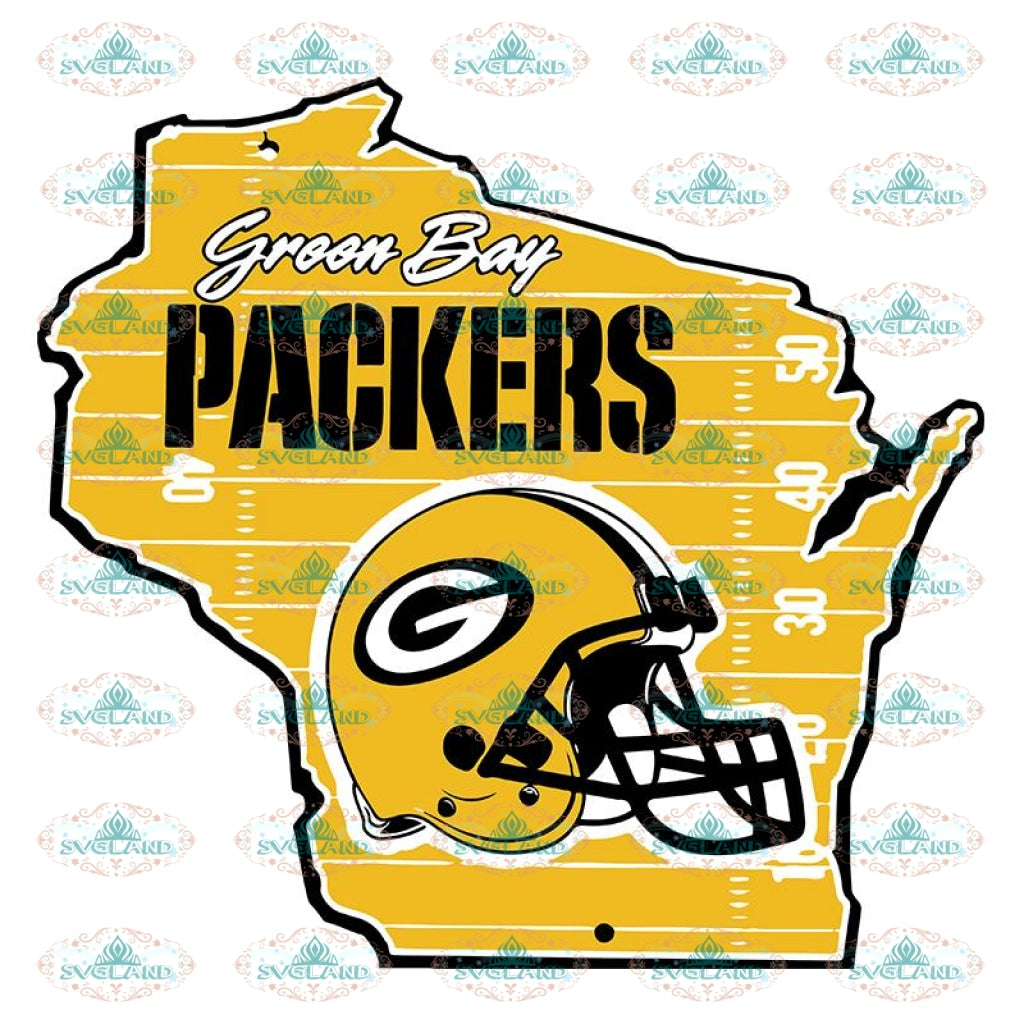 Packers Map Svg, Green Bay Packers Svg, Packers Quotes, Cricut Silhouette, Clipart, NFL Svg, Football Svg, Sport Svg