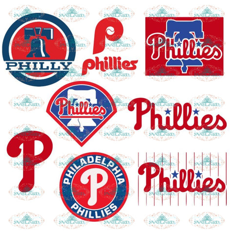 Philadelphia Phillies SVG, png, dxf, eps, ai, clipart, logos, graphics, MLB