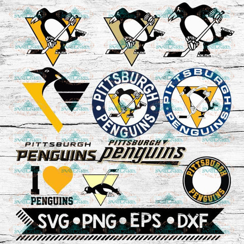 Pittsburgh Penguins Svg, Pittsburgh Penguins Logo, NHL, Svg, Bundle