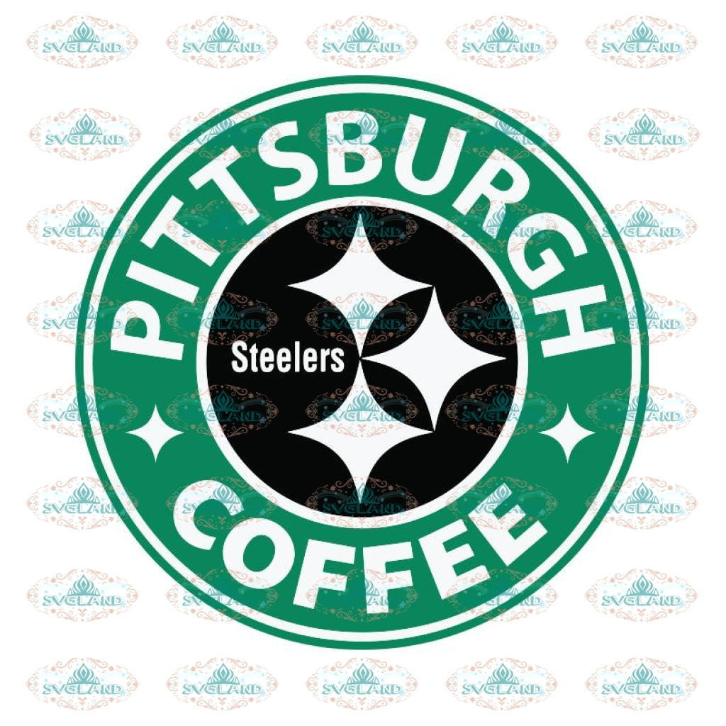 Pittsburgh Steelers Coffee Svg, Starbucks Steelers Svg, NFL Svg, Cricut File, Clipart, Sexy Lips Svg, Sport Svg, Football Svg, Png, Eps, Dxf