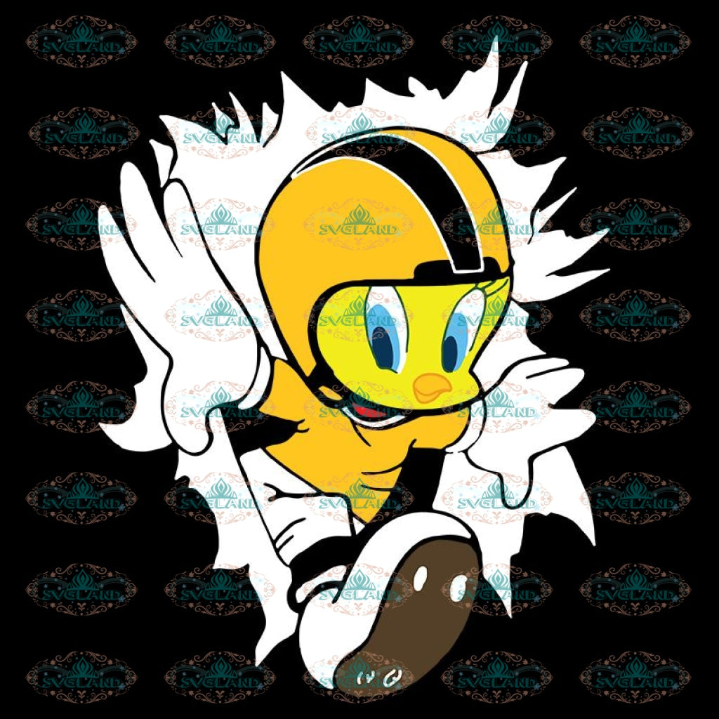 Pittsburgh Steelers Duck Svg, Cuties Duck Svg, Cricut File, Clipart, NFL Svg, Football Svg, Sport Svg, Love Football Svg, Png, Eps, Dxf