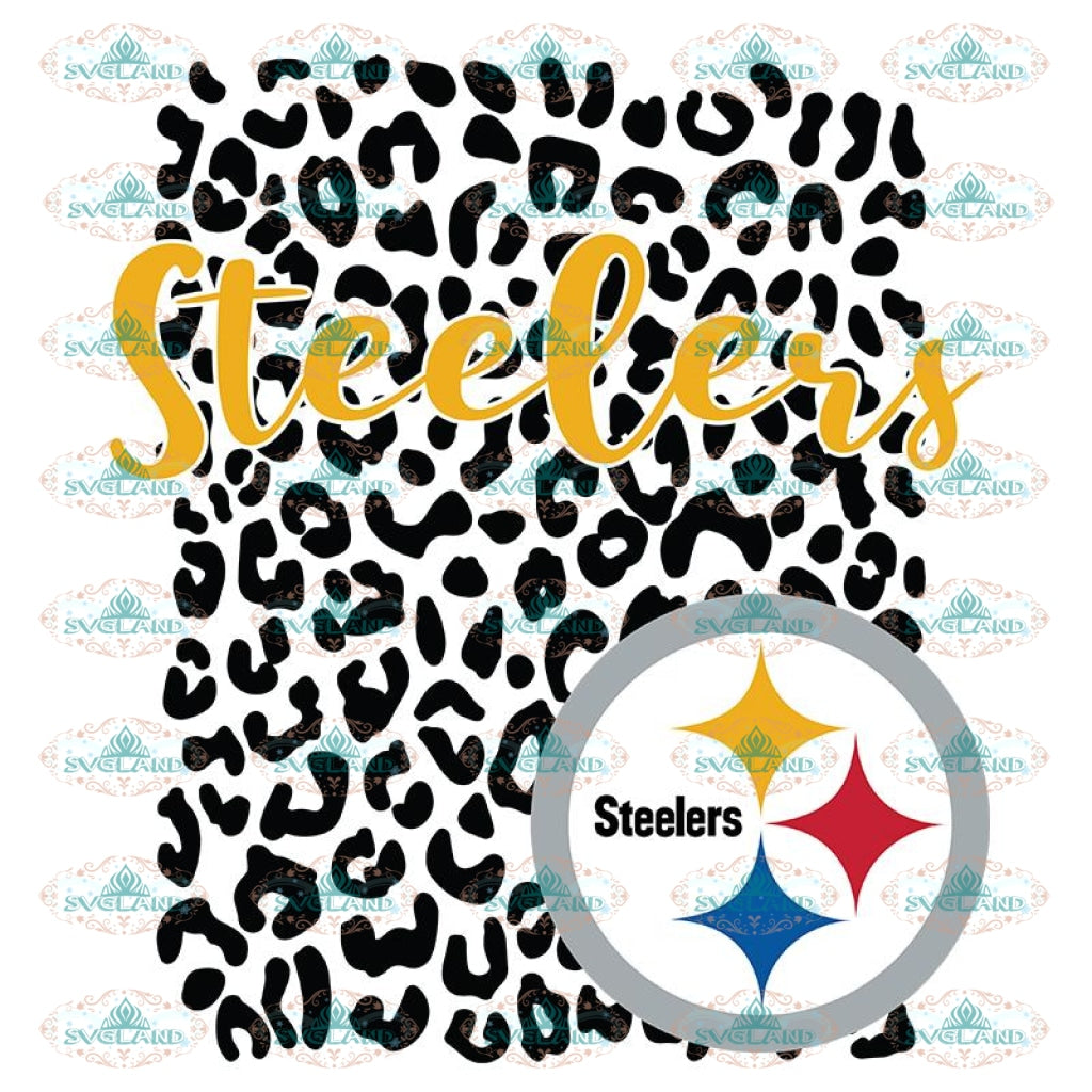 Pittsburgh Steelers Leopard Spirit Svg, Pittsburgh Steelers Svg, NFL Svg, Cricut File, Clipart, Leopard Svg, Sport Svg, Football Svg