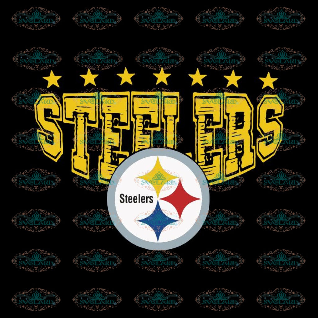 Pittsburgh Steelers Logo Svg, Cricut File, Clipart, NFL Svg, Football Svg, Sport Svg, Love Football Svg, Png, Eps, Dxf