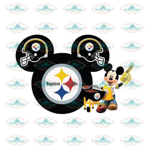 Pittsburgh Steelers Mickey Svg, Disney Steelers Svg, NFL Svg, Cricut File, Clipart, Sexy Lips Svg, Sport Svg, Football Svg, Png, Eps, Dxf 2