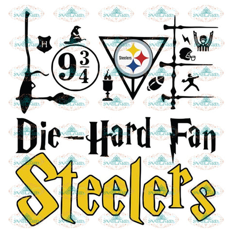 Pittsburgh Steelers Svg, Harry Potter Svg, Cricut File, Clipart, NFL Svg, Football Svg, Sport Svg, Love Football Svg, Png, Eps, Dxf