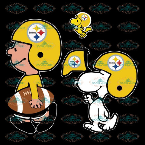 Pittsburgh Steelers Svg, Snoopy And Peanut Svg, Cricut File, Clipart, NFL Svg, Football Svg, Sport Svg, Love Football Svg, Png, Eps, Dxf 3