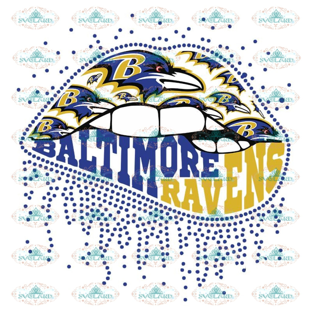Ravens Sexy Lip Svg, Baltimore Ravens Svg, Raven Logo Svg, NFL Svg, Sport Svg, Football Svg, Cricut File, Clipart, Ravens Girl Svg