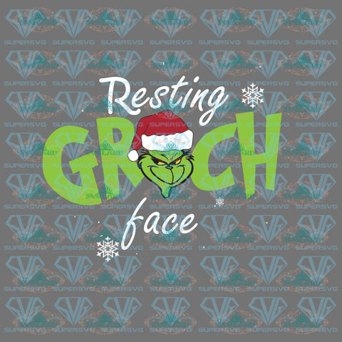 Resting Grinch Bake Dr Seuss Christmas Gift Png Dxf Eps Digital