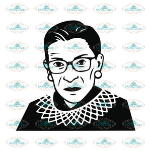 Ruth Bader Ginsburg Svg, Notorious Svg, RBG Svg, Cricut File, Clipart 16
