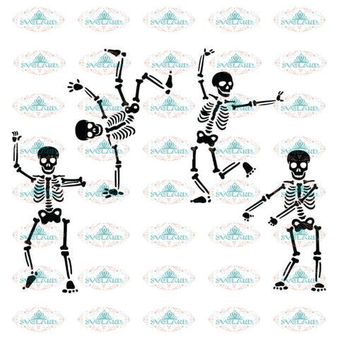 Skeleton Funny Dance Svg, Skeleton Svg, Halloween Skeleton Flossing Svg, Halloween Svg, Cricut File, Clipart, Silhouette