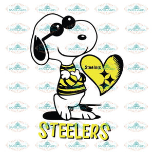 Snoopy Cool Svg, Cricut File, Snoopy Dog Steelers Svg, NFL Svg, Football Svg, Cricut File, Sport Svg, Football Svg, Png, Eps, Dxf