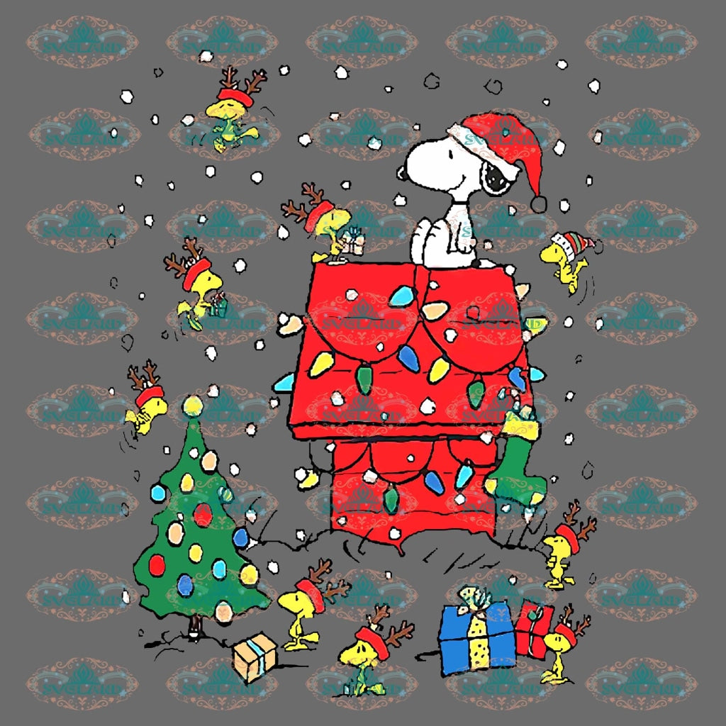 Snoopy Snoopy Design Christmas Merry Gift Outfit Png Digital