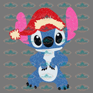 Stitch Stitch Christmas Lights Disney Winter Christmas Merry Png Digital