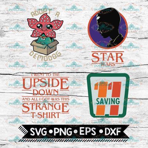 Stranger Things Svg, Stranger Svg, Bundle, Starwars Svg, Cricut File, Svg