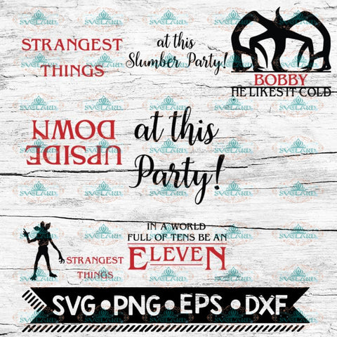 Stranger Things Svg, Cricut File, Bundle, Stranger Svg, Silhouette Cameo, Svg