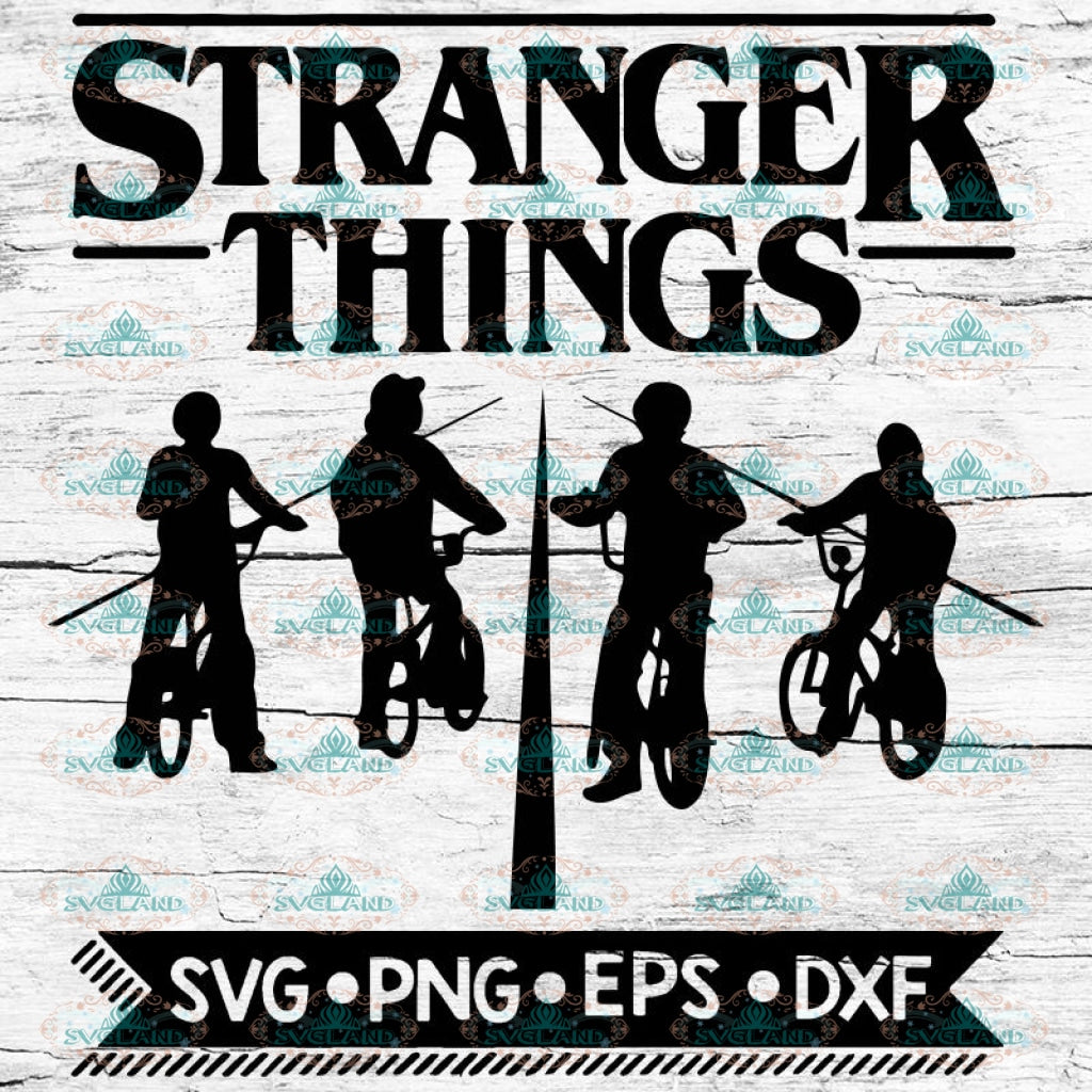 Stranger Things Svg, Cricut File, Svg, Stranger Svg, Silhouette, Friends