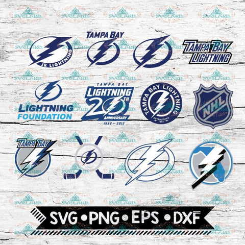 Tampa Bay Lightning, NHL, Svg, Tampa Bay Lightning svg, Bundle