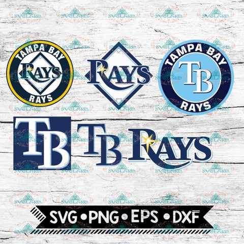 Tampa Bay Rays SVG, png, dxf, eps, ai, Clipart, Logos, MLB