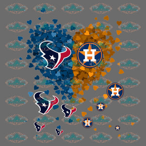 Texans Houston Texans Shirt Logo Football College Png Digital
