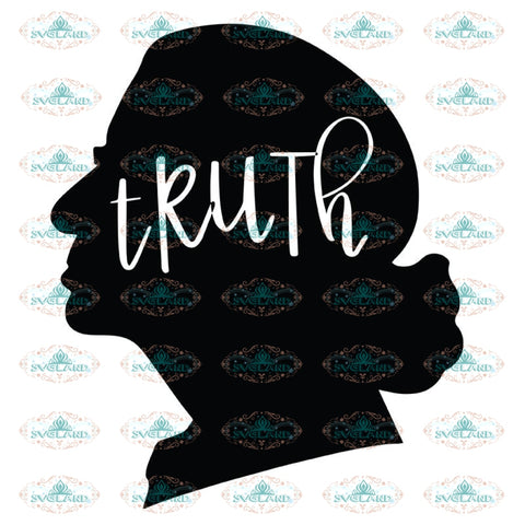 Truth Svg, Ruth Bader Ginsburg Svg, Notorious Svg, RBG Svg, Cricut File, Clipart