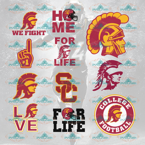 Usc Trojans Football Team Usc Trojans Fans Logo College Svg Bundle File Nfl Ncaa Digital