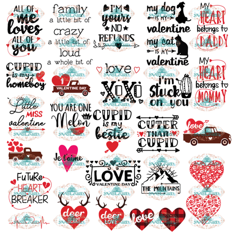 Valentines Day Svg Bundle Cupid Svg Silly Cuter Than Cupid Design Cut Files File Svg Digital