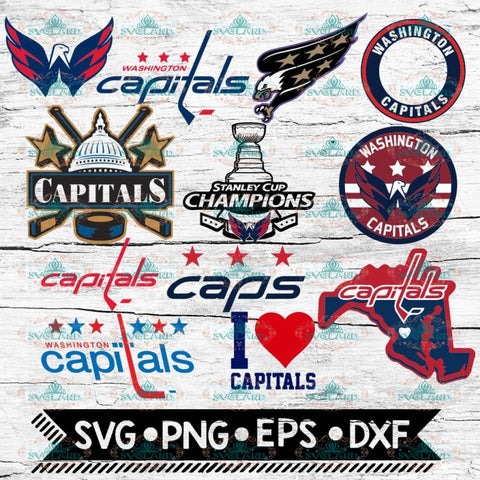 Washington Capitals Logo, Washington Capitals svg, NHL, Svg, Bundle