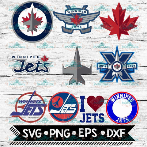 Winnipeg Jets Svg, Winnipeg Jets Logo, NHL, Svg, Bundle