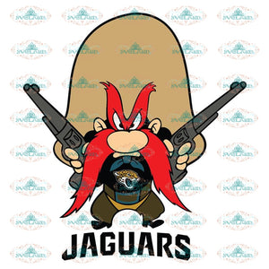 Yosemite Sam Svg, Cricut File, Clipart, Jacksonville Jaguars Svg, Football Svg, Sport Svg, NFL Svg, Love Football Svg, Png, Eps, Dxf